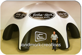 Inflatable Event Tent & Landmark Creations | Premier Custom Inflatables Since 1986